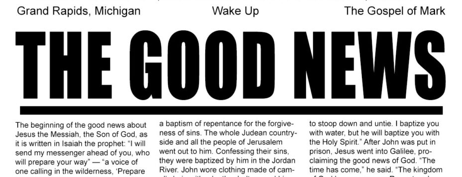 The Good News - Wake Up