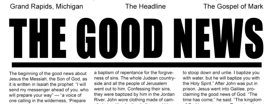 The Good News - The Headline