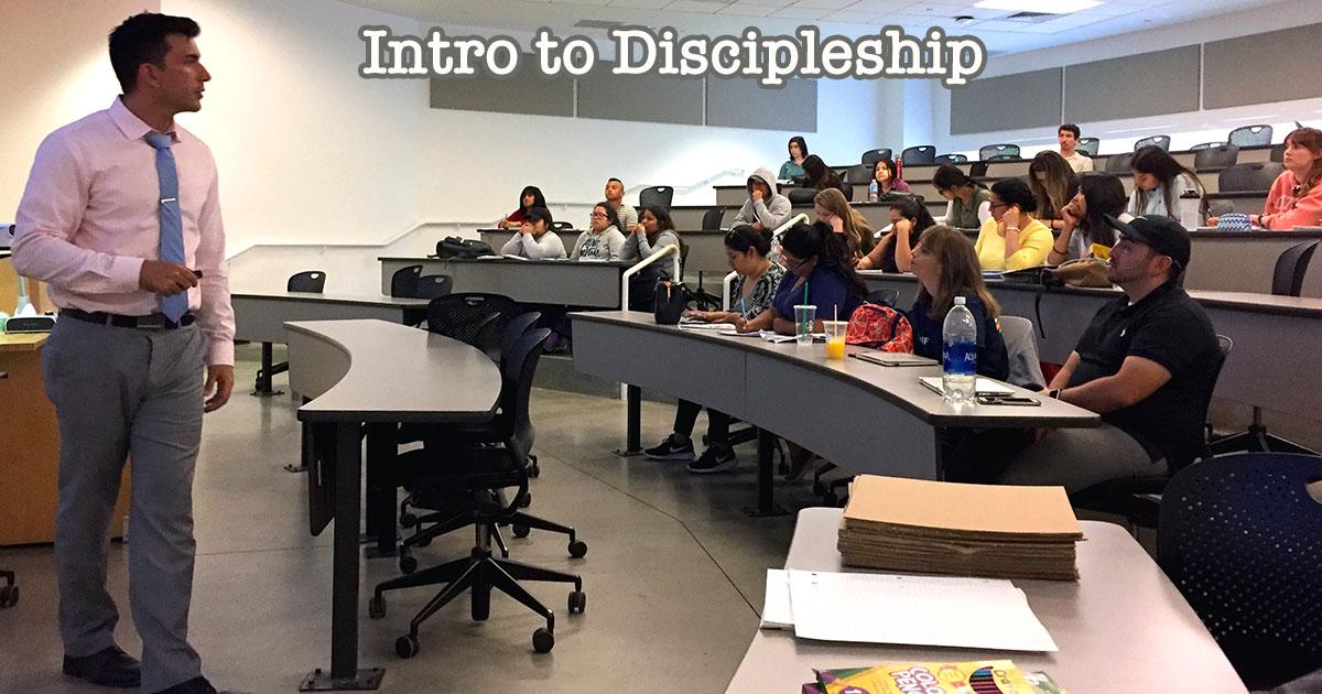 Intro to Discipleship